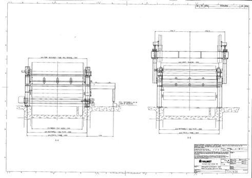 Press section drawing 2